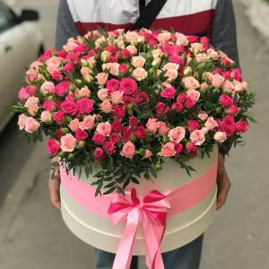 101 кустовая роза микс R1949